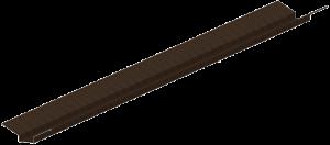 Ендова декоративная для металлочерепицы
