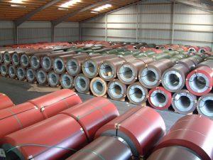 Бухта металу для металочерепиці