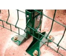 Набір основ для кріплення стовпа(60х40)
