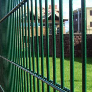 Секційний паркан серії ПРОМ ТЕХНА h-1030мм L=2500мм d= 4+2х5 мм