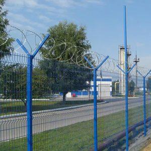 """Спіральний бар'єр безпеки """"Єгоза"""", d-600mm, 7 скоб з'єднання"""
