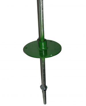 Кріплення флюгера на шпиль