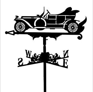 """Флюгер на дах """"Автомобіль"""""""