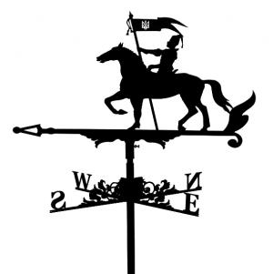 "Флюгер на дах ""Козак на коні"""