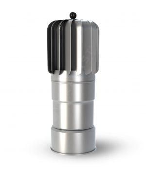 K18OCAL – Ковпак з примусовою вентиляцією Wirplast ø 150 мм