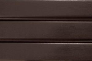 Сайдинг софіт ASKO коричневий, не перфорована панель, 3,5 м