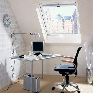 Мансардне вікно Roto R48WH 54×78  (біла сосна)