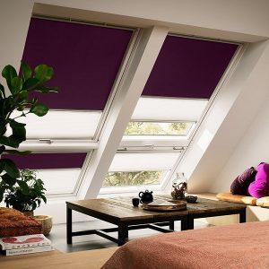 Вікно на мансарду Roto R45WH WD 80×124 (біла сосна)