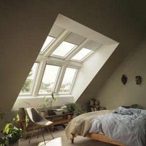 Дахове вікно Roto R45WH 54×78 (біла сосна)