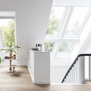 Вікно для даху Roto R45WH 65×140 (біла сосна)