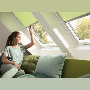 Вікно мансардне Roto R45WH 74×118 (біла сосна)