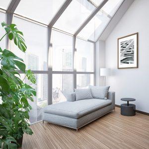 Мансардне вікно Roto R45WH 114×118 (біла сосна)