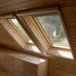 Вікно для даху Roto R45K WD KK/KG 120×146 (ламінація під дерево)