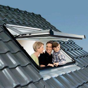 Вікно на дах Roto R65K WD KK/KG 60×124 (ламінація під дерево)