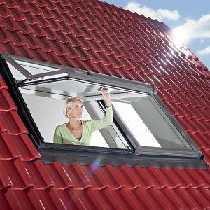 Дахове вікно Roto R69G K WD KK/KG 80×104 (ламінація під дерево)