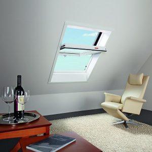 Вікно дахове Roto R69P K WD KK/KG 100×146 (ламінація під дерево)