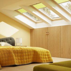 Вікно в дах Roto R45K WD KK/KG 60×104 (ламінація під дерево)