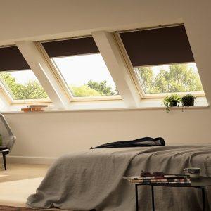 Вікно на дах Roto R45K WD KK/KG 60×124 (ламінація під дерево)