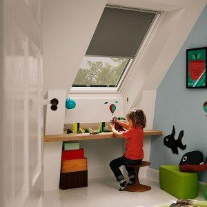 Вікно для покрівлі Roto R45K WD KK/KG 100×124 (ламінація під дерево)