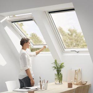 Вікно дахове Roto R69P K WD KK/KG 80×146 (ламінація під дерево)