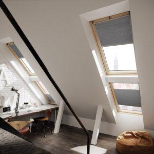 Вікно для даху Roto R69P K WD KK/KG 71×146 (ламінація під дерево)