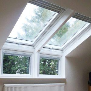 Дахове вікно Roto R69P K WD KK/KG 120×146 (ламінація під дерево)