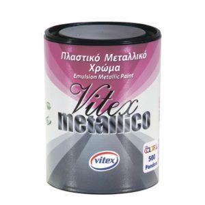 Фарба з металевим ефектом VITEX METALLICO 0.7l