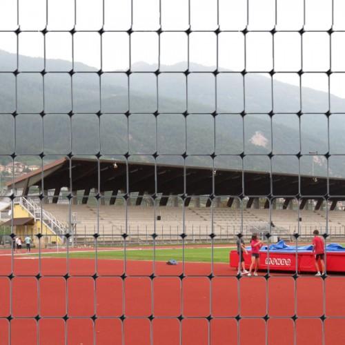 Сітка для огорожі спортивних споруд C-FLEX чорна (1х100 м.п.)