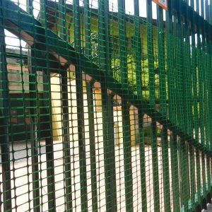 Сітка надміцна для огорожі HOBBY 30 зелена (1х50 м.п.)