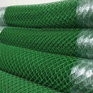 Сітка рабиця (в ПВХ покритті) віч. 35 х 35 мм / Ø 1,50 мм/ Ø 2,50 мм / h = 1,50 м