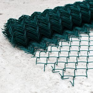 Сітка рабиця (в ПВХ покритті) віч. 35 х 35 мм / Ø 1,50 мм/ Ø 2,50 мм / h = 1,20 м