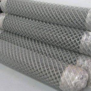 Сітка рабиця (оцинковка) віч. 50 х 50 мм / Ø 1,80 мм / h = 1,80 м