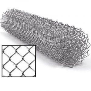 Сітка рабиця (оцинковка) віч. 50 х 50 мм / Ø 1,60 мм / h = 1,20 м