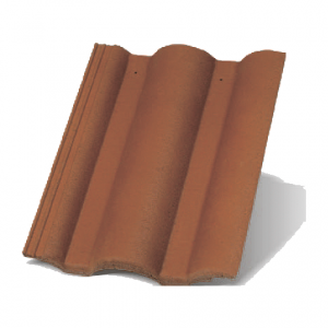 Цементна черепиця Терран Стандарт (колір: натур)