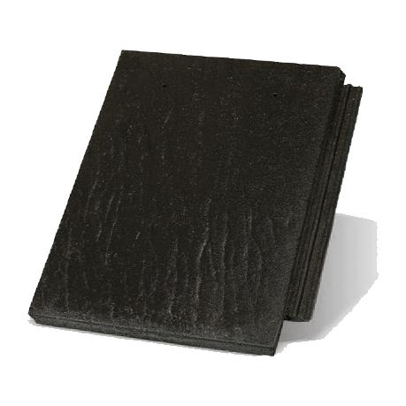Цементна черепиця Терран Зеніт R (кольори: карбон, графіт, гросо, граніт, онікс)