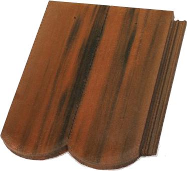 Цементна черепиця Терран Рундо CS (колір: одон)