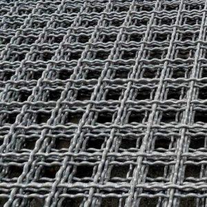 Сітка канілірована віч. 60 х 60 мм / Ø 5,0 мм / 1,5 х 2 м
