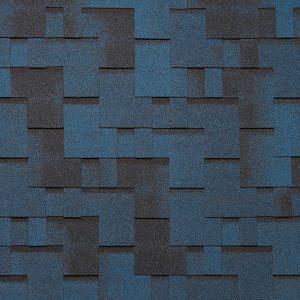 Бітумна черепиця Тегола Супер Готик (колір: синя ніч)