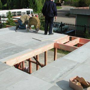 Цементно-стружкова плита БЗС 3200 х 1200 х 20 мм
