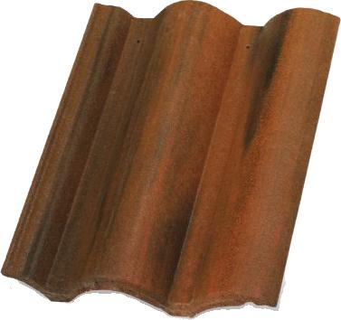 Цементна черепиця Терран Коппо CS (кольори: феррара, венеція, модена, одон)