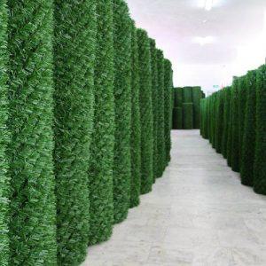 Зелений паркан DG із штучної трави