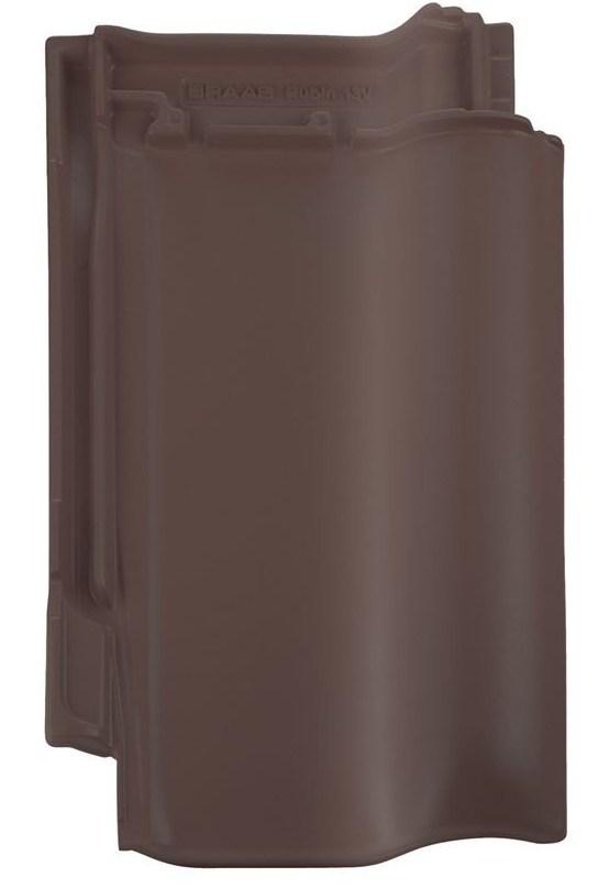 Керамічна черепиця Braas Рубін 13V (покриття-ангоб), кольори: мідний / коричневий