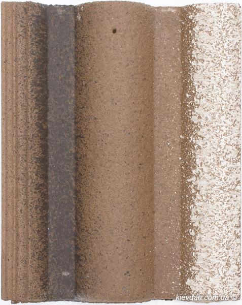 Цементно-піщана черепиця Вraas Адрія (покриття: Slurry)