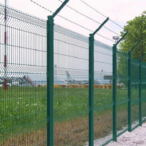 Установка паркану із секцій висотою до 2,4 м (бетонування стовпів) з Г накінечником і АКС
