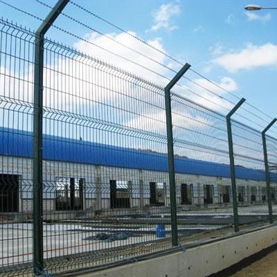 Монтаж секційного паркану висотою до 2,4 м (бетонна основа) з Г накінечником і АКС