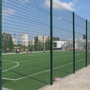 Будівництво секційного паркану висотою від 4 м до 6 м (анкеровка) з накінечником