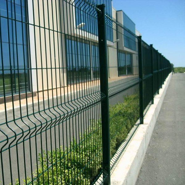 Будівництво секційного паркану висотою від 2,4 м до 4 м на основу (анкеровка)