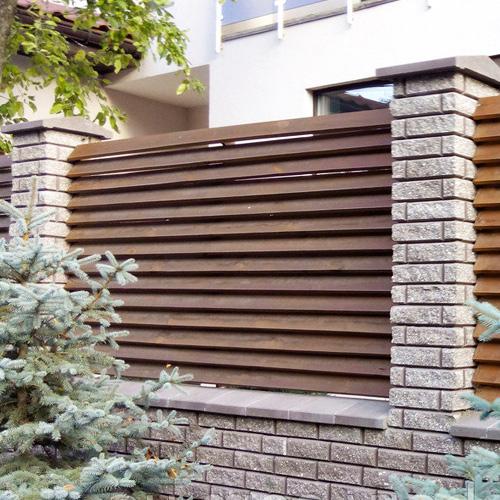 "Дерев'яний паркан ""Жалюзі-2"" 2.0х2.0"