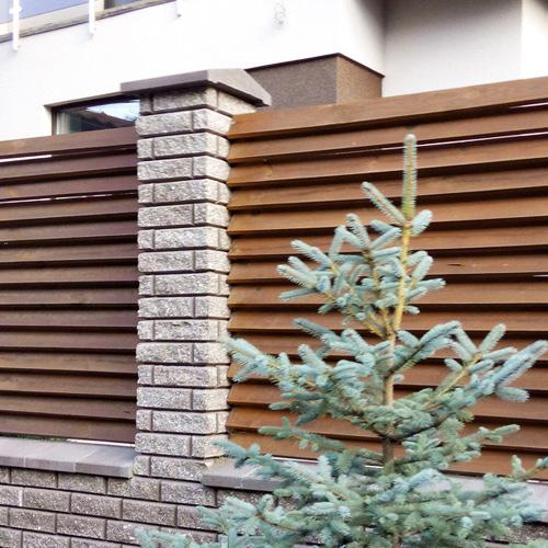 "Дерев'яний паркан ""Жалюзі-2"" 1.7х2.0"