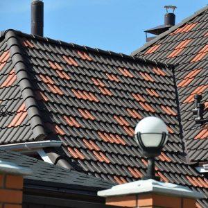 Монтаж натуральної черепиці – простий дах (Тільки кровельное покрытие)